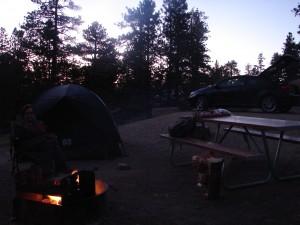 Camp Jenny with Jenny
