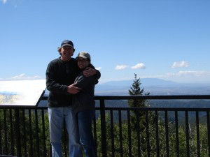 We've taken our picture at this scenic lookout in Santa Fe on everyone of our trips for the last 15 years.