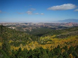 Dixie National Forest Scenic Overlook