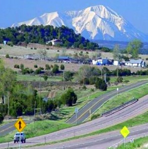 Interstate 25 view in CO