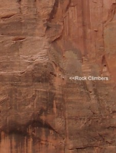 Rock Climbers Even Closer