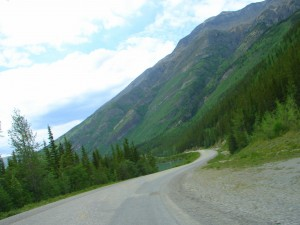 Fort Nelson To Liard Hot Springs Lonely Road