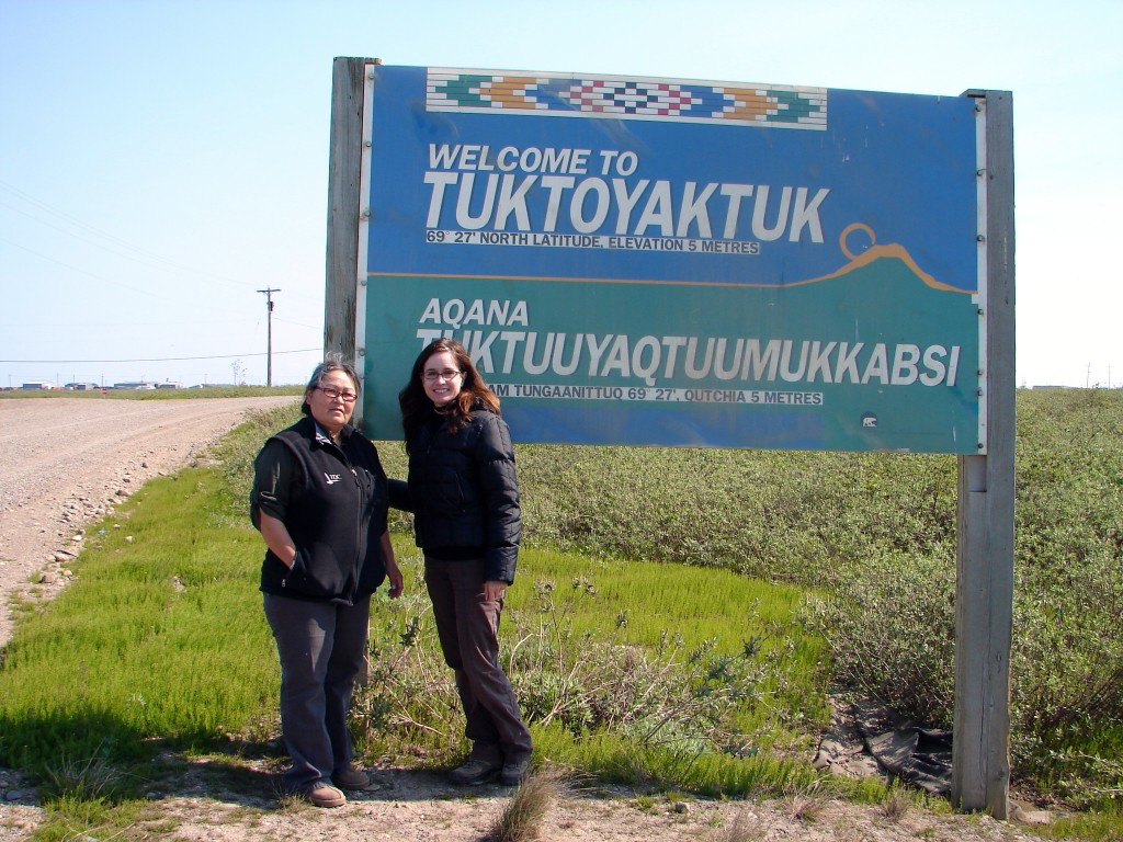 Welcome to Tuktoyaktuk
