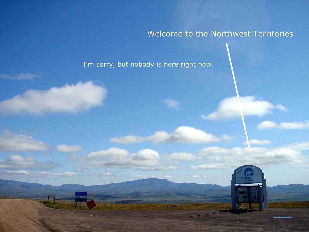 Welcome to the Northwest Territories