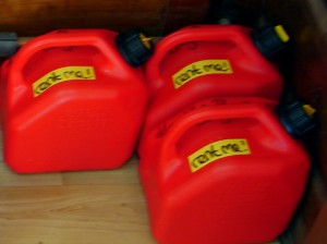 gas cans for rent