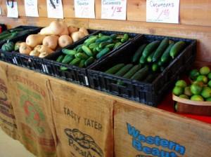 roadside farmers market smaller