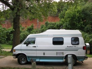 living in a roadtrek 170
